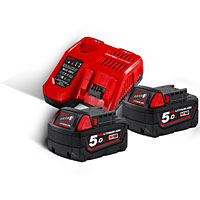 Milwaukee Battery and Charger Kits | Milwaukee at CBS Power Tools UK